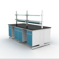 Molecular biology lab wall bench Chemical and Physical laboratory furniture with CE certification