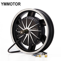 High Speed 16 Inch 3000W Bldc Motor Electric Hub Motor For Motorcycle