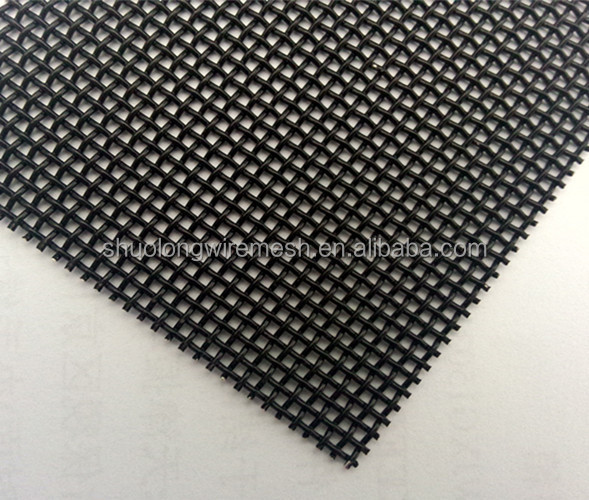 Stainless steel wire mesh security screen mosquito door for Mesh for windows and doors