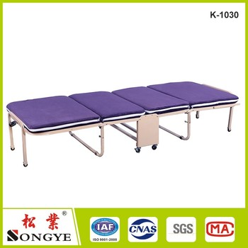 Japanese Modern Lazy Metal Folding Bed