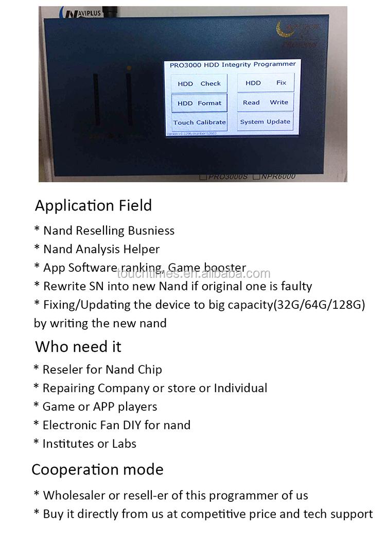 Navi Plus Pro3000s 32 64 Bit Nand Programmer,Repair Hdd Serial Number  Sn,For Iphone Ipad Mini - Buy Navi Plus Pro3000s,Nand Programmer,Repair Hdd