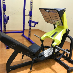 factory high quality hammer strength training/plate load commercial gym equipment machine/fitness equipment Leg press JG-1910