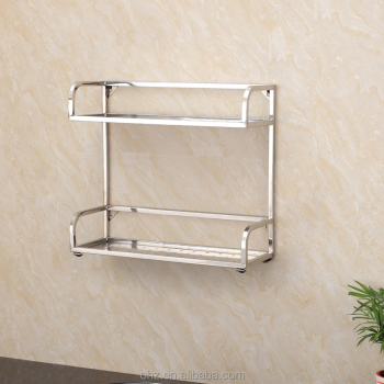 6b Modern Wall Mounted Kitchen Storage Stainless Steel Spice Rack
