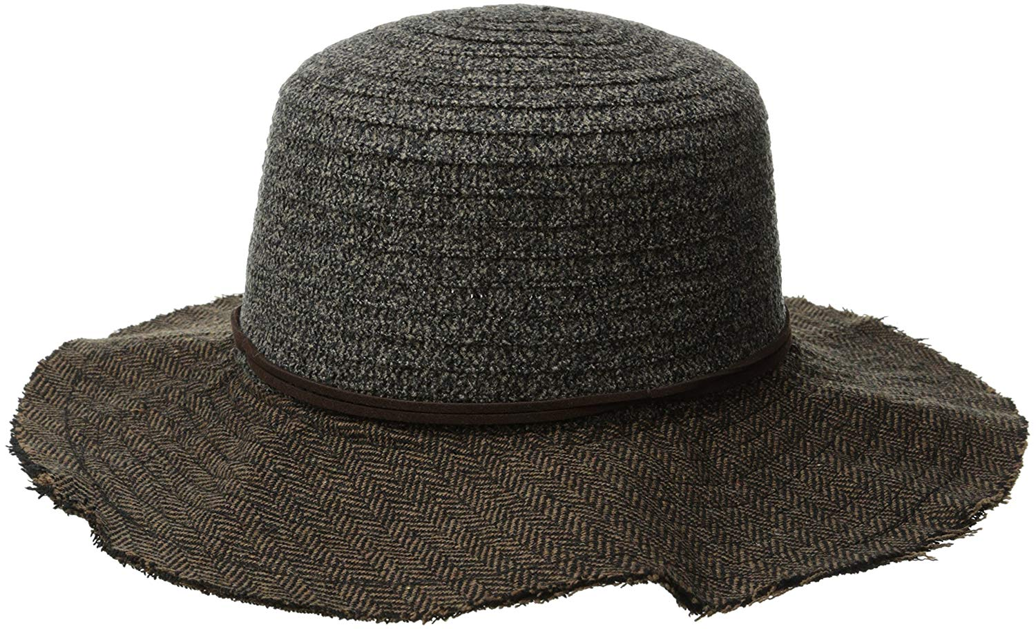 44c3d1edeabdb San Diego Hat Company Women s Chenille Crown with Floppy Hat