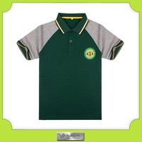 Good Quality Custom Embroidered Soft Polo Tee For Child
