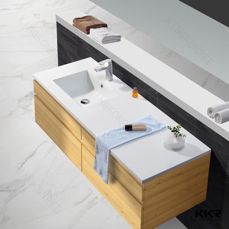 Airport Toilet Wash Basin Counter Top Acrylic Wash Hand