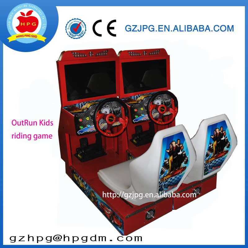 Arcade Kids Race Car Games Machine Coin Operated Car Racing Game ...