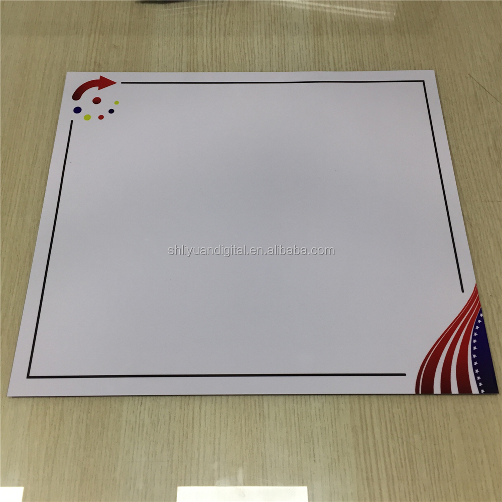 Whiteboard Magnetic Wall Calendar Dry