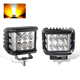 2018 New 48w Led Flashing Strobe 12v 36w Car Led Work Light