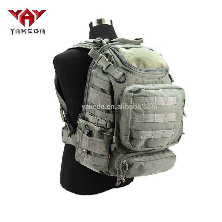YAKEDA molle Camping military tactical hydration travel army rucksack backpack