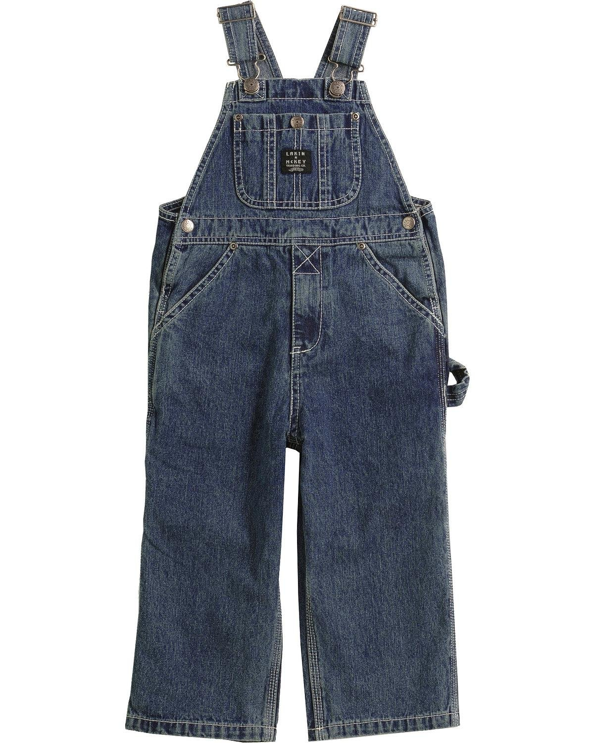 d5c3b8d14ede Get Quotations · Key Toddler-Boys  Industries Denim Overalls 2T-4T Denim 2T