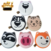 Rohs Smile Emoji Powerbank Mini Power Banks 5V 2.1A Portable Mobile Creative Cartoon Gift DIY 10000mah Power Bank 8000Mah