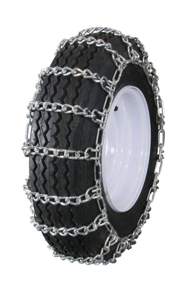 Grizzlar GTU-236 Garden Tractor Snowblower 2 link Ladder Alloy Tire Chains 12.5x4.50-6 12x7-4 13x4.1-6 13x4.00-5 13x4.00-6 13x5.00-6 4.10-6NHS 4.10/3.50-6 4.10-6