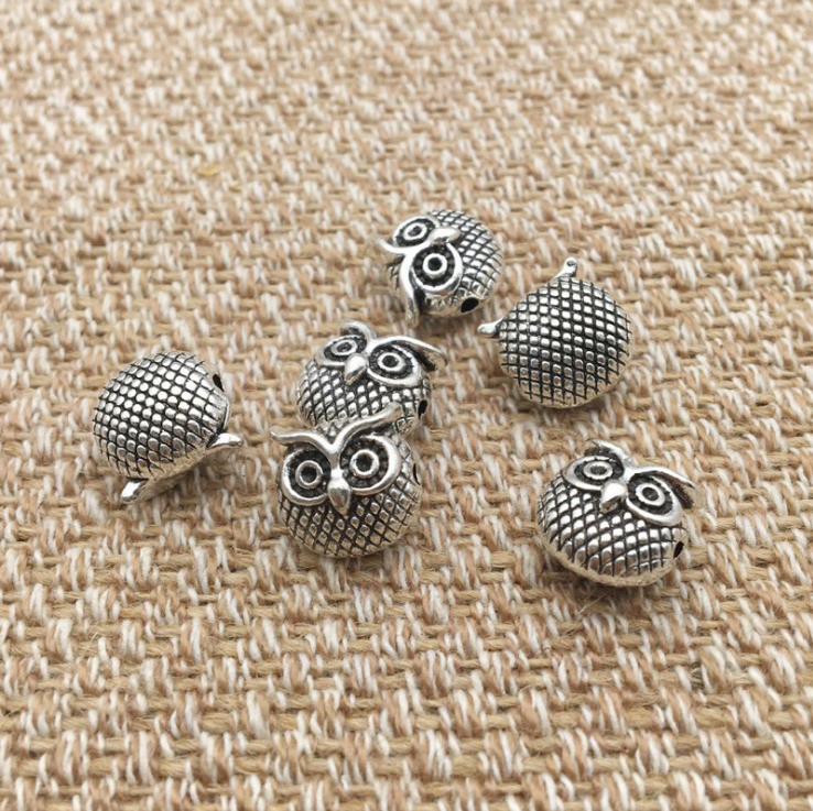 DIY silver owl love crystal Snap Buttons Interchangeable Jewelry Accessory Replaceable Button Snap Jewelry For Bracelet