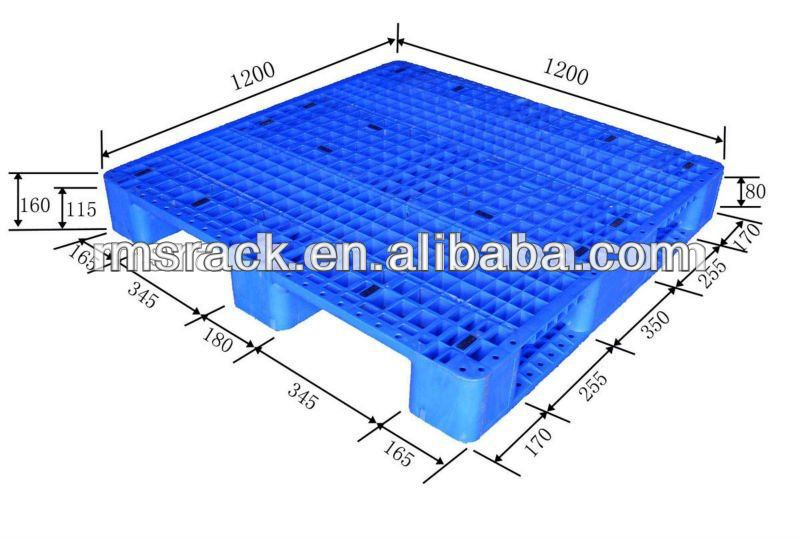 China 4 Way Pallet Size Wholesale