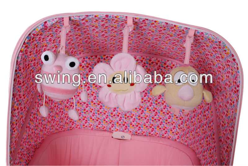 Baby elektrische wiege stubenwagen babybett swing kinderbett faltbar
