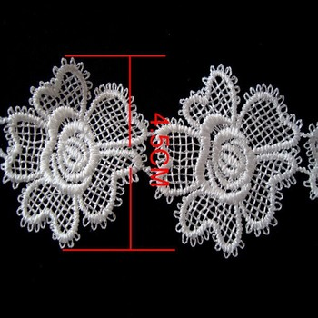 Embroidery Designs Flower Neck Lace/ Indian Embroidery Lace Trim ...
