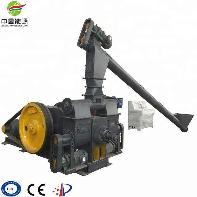 Piston type Corn Straw Biomass Briquette Machine Price with CE