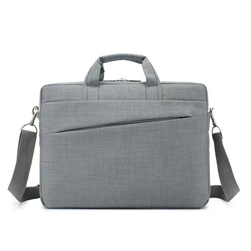 뜨거운 판매 사용자 정의 로고 15 인치 나일론 노트북 가방 어깨 스트랩
