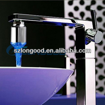 LED Lights Kitchen Temperature Sensitive Controlled Changing Faucet Tap 3  Color