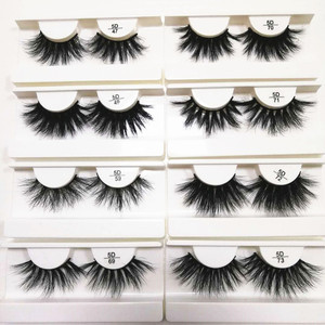 top seller 25mm lashes charming eyelashes cheap 5d mink lashes 3d mink eyelashes private label