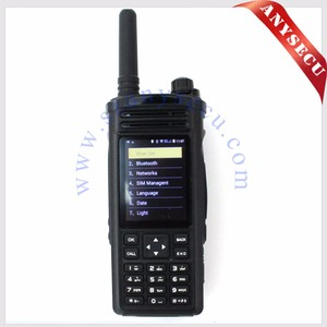 micro transmitter and receiver WCDMA TWO-Way Radio 3G WiFi Radio 3G-HD6800 with GPS SIM Card dual sim radio communicator