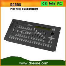 Professional Pilot 2000 DMX Console Led Stage Lighting Controller