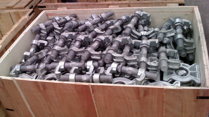 Steel Shipping Container Lashing clamping Bridge Fittings