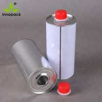 250ml empty aerosol can from factory with metal tin can