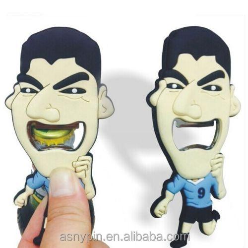 Luis Suarez beer bottle opener Sue god bite teeth bottle opener Funny bitten