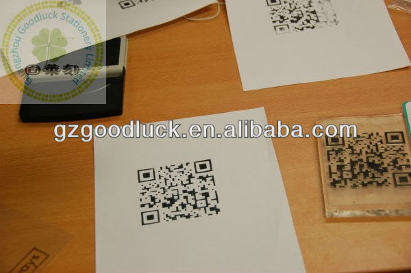QR code stamps for website addres/Tel QR code stamps