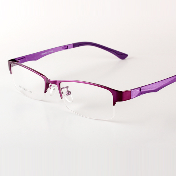 672e06161b Get Quotations · Slim Ultra Light Lady and Gentlemen Glasses Frames Half  Box Eye Glasses Frames