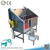 dog cat veterinary grooming equipment stainless steel cheap pet bathtub price