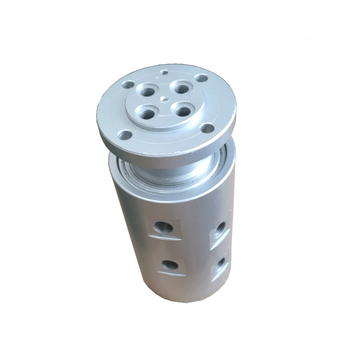 4 channel high pressure hydraulic oil rotary joint for