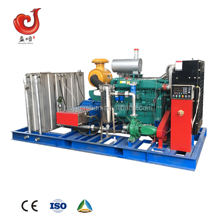 china industrial high pressure water jet power pipe sewer high pressure washing