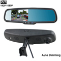 Latest HD 1920 1080P DVR Camera Special Bracket Auto Dimming Car Mirror Monitor 2 RCA Video