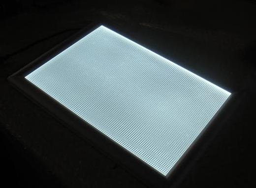 factory price clear acrylic pmma prismatic led panel lights diffuser sheet