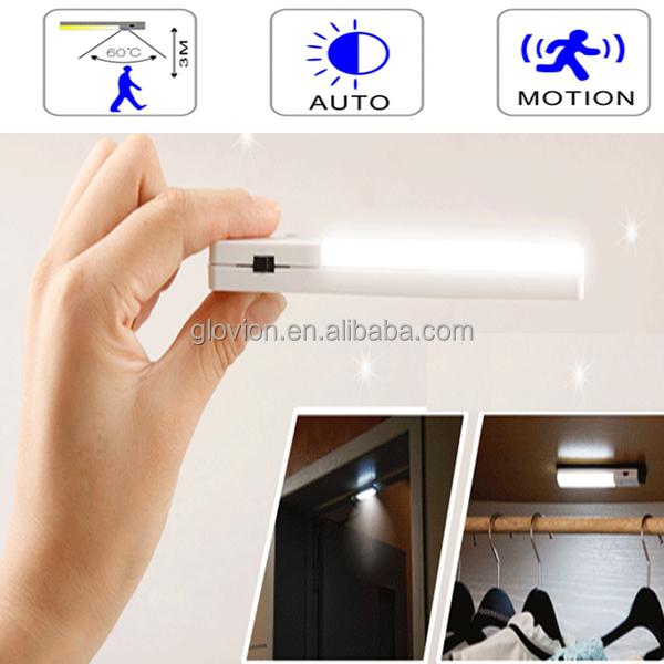 Indoor Sensor Night Light Glovion Small Sensor Led Light Battery ...