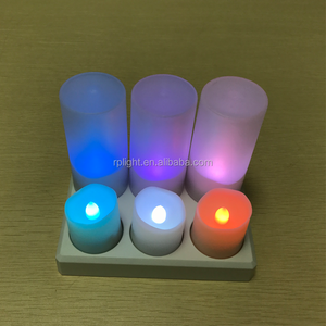 Wholesale Candles Rechargeable Led Candle Moving Flame Electronic Candle