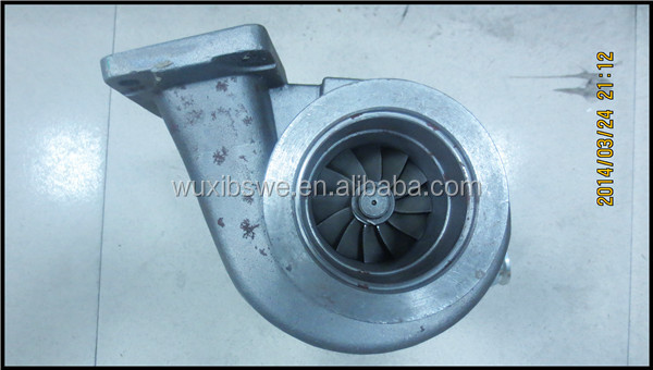 High speed !!! Suit for volvo turbocharger HX55 4044198 4033355 2834365 2834366 engine MD13 Euro3 400-440HP