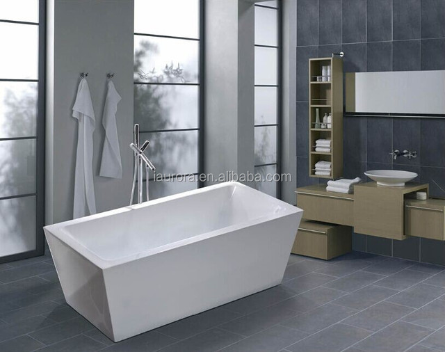 Small Square Tub Part - 50: Small Square Bathtub Hot Tub With Overflow