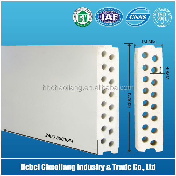 Fiber Cement Wall Panel reinforced foam cement board from China Manufactory