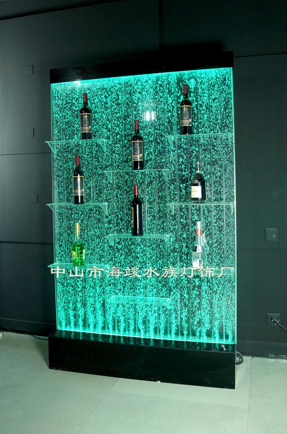 wine rack lighting. Acrylic Bubble Water Led Lighting Wine Rack,with Dancing Effect, Rack X