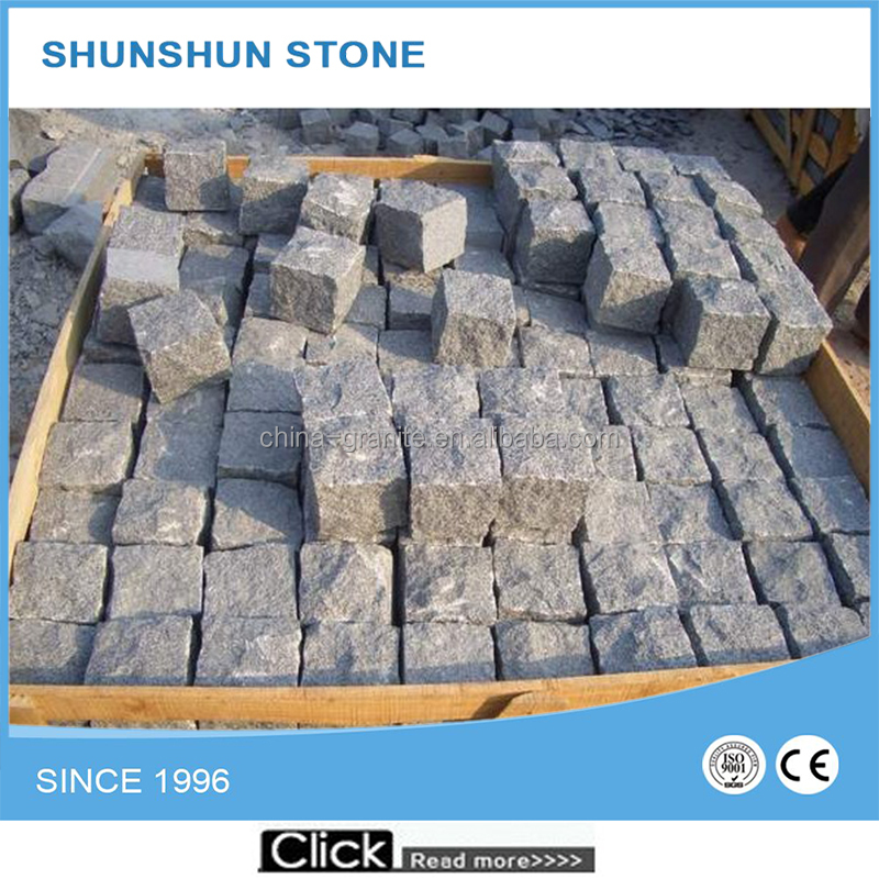 Grey Wholesale Factory Natural Surface Granite Cube Stone/Cube Paving