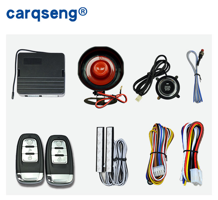 DC12 <strong>V</strong> Push Start Stop Engine passive Keyless entry system remote control start stop ignition