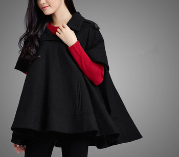 acheter pas cher 028eb 115f0 2015 Angleterre Hiver Chaud Mode Cachemire Col Rond Femmes Manteau Cape  Cape - Buy Manteau D'hiver,Manteau Femme,Manteau Cape Product on Alibaba.com