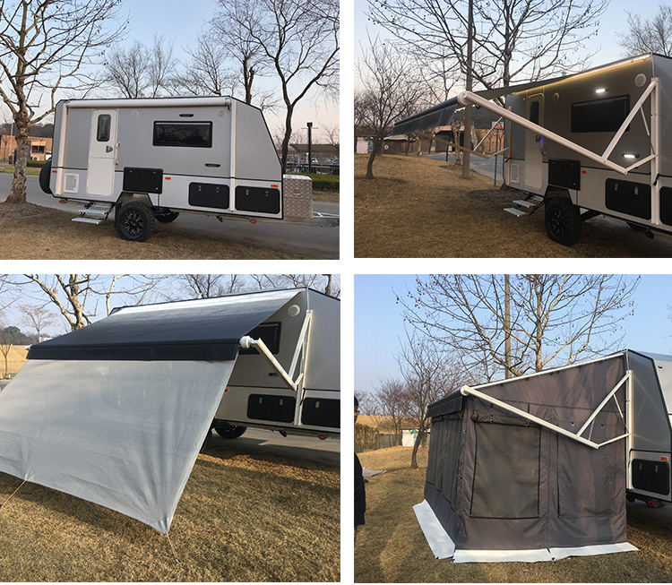 Electric Roll Out Rv Caravan Awning,Power Motorhome Awning ...