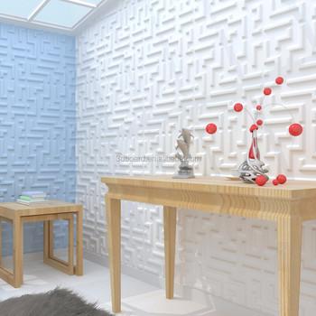 plstico pvc revestimiento de paredes interiores 3d paneles de pared decorativos para la venta - Revestimiento Pared Pvc