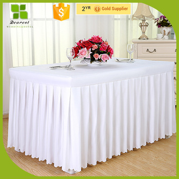 High Quality Cheap Steps In Table Skirting OEM