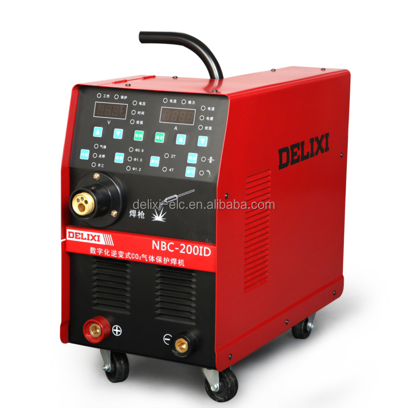China supplier DELIXI double pulse mig welding NBC-200ID
